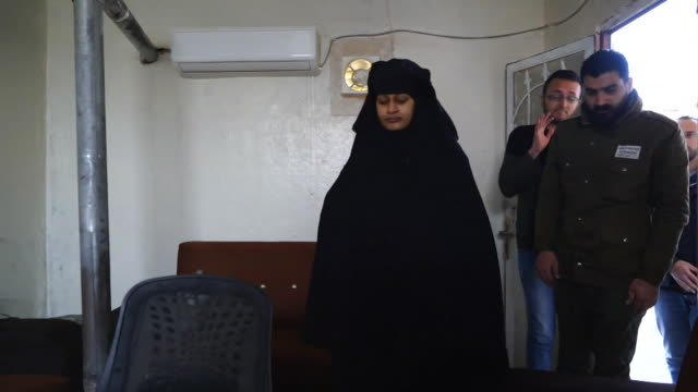 Interview with Shamima Begum UK teenager who joined Islamic State in 2015 but is now living in a refugee camp in Syria and wants to come home to the...