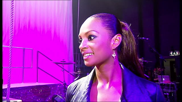 interview with singer alesha dixon interview with singer alesha dixon england london shepherds bush empire int alesha dixon interview sot on pink... - pink singer stock videos and b-roll footage