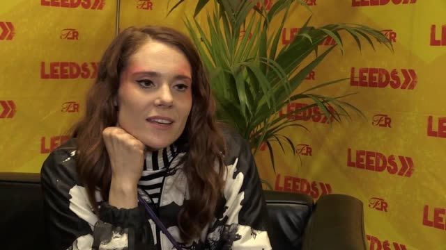 interview with singer and glow star kate nash ahead of her headline set on the festival republic at leeds festival - reading and leeds festivals stock videos & royalty-free footage
