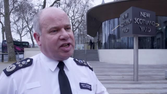 interview with sir craig mackey deputy commissioner of the metropolitan police following a landmark supreme court ruling linked to the case of black... - sexual violence stock videos & royalty-free footage