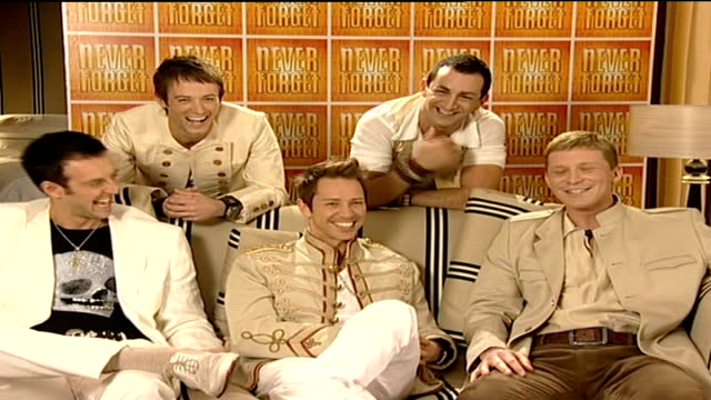 are no screaming fans take that tribute band sot hope things will kick off one rehearsals start q is it screaming fans you're looking for take that... - take that stock videos and b-roll footage