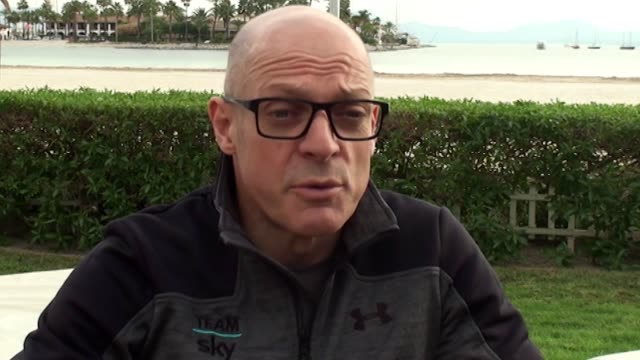 Interview with Team Sky principal Sir Dave Brailsford during Team Sky's annual media day in Majorca He talks about the investigation into allegations...