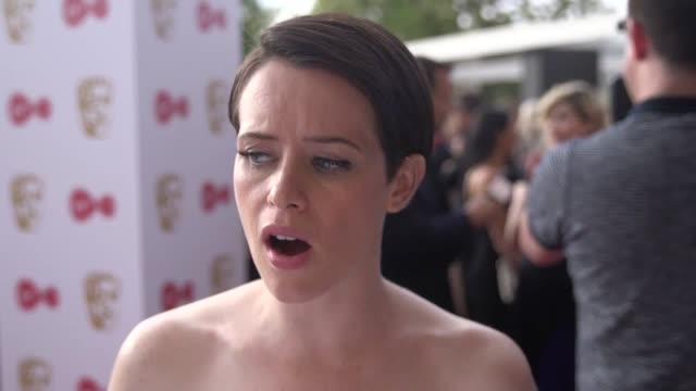 Interview with The Crown actress Claire Foy on the red carpet for the TV Baftas Foy talks about the pay dispute and how revealing her wage has helped...