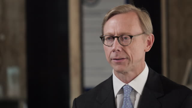 """DC: America's Special Representative to Iran  told Sky News that if Iran attacks - the US would respond.Brian Hook said any US attack on Iran would be """"purely defensive"""" - as there's a sustained and credible threat in the Middle East."""