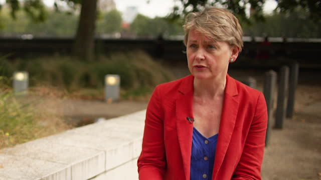 """interview yvette cooper, labour mp, about issues with the home quarantine system and track and trace, for people travelling into uk from abroad,... - """"bbc news"""" stock videos & royalty-free footage"""