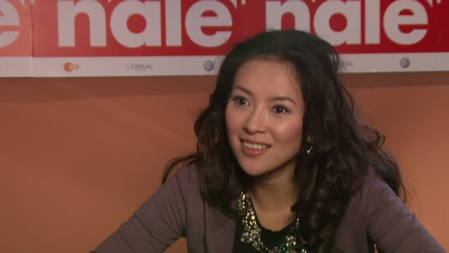 iNTERViEW Zhang Ziyi on the film and the Berlin Premiere at the 59th Berlin Film Festival Forever Enthralled Interviews at Berlin