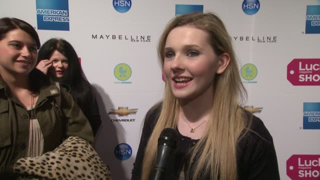 abigail breslin on how her style has evolved in the last few years on how she used to try to be rock and roll on being in a band on some of her... - last stock videos & royalty-free footage