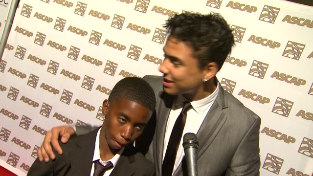 Christian Combs and Quincy Combs on their father's award what he taught them at the 24th ASCAP Rhythm Soul Music Awards Honoring Sean 'Diddy' Combs...