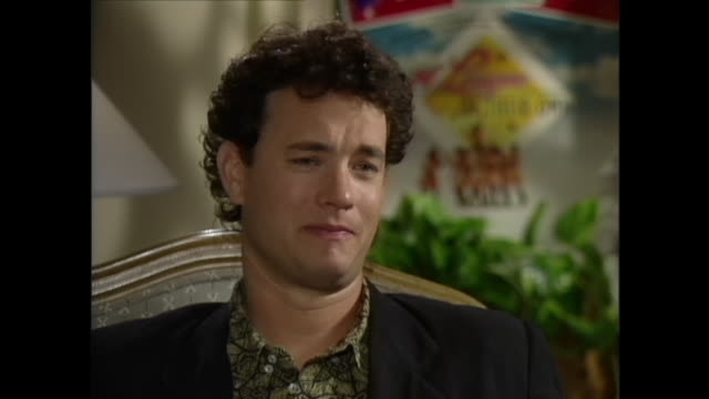 didn't you go through a super serious kind of stage too a religious stage tom hanks it was a degree of seriousness that went along with it but it was... - mull stock videos & royalty-free footage