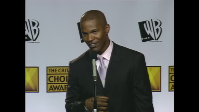 i'm just curious what you thought about in those college days did you ever think you'd get this far jamie foxx no not at all they hated me in college... - musical theater stock videos and b-roll footage