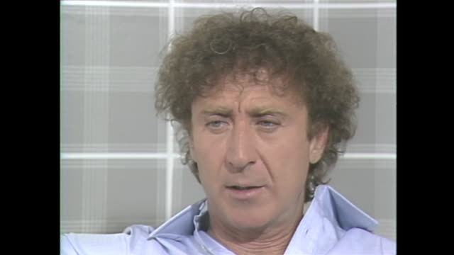 when you were a little boy you started performing for your mother who was ill at the time gene wilder ya my mother had a heart attack when i was 7 or... - gene wilder stock videos and b-roll footage