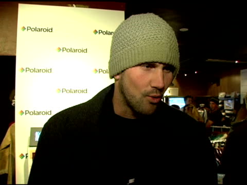 Matt Leinart on being here for ESPN on being a rookie at the festival at the 2007 Sundance Film Festival at the Marquee Lounge in Park City Utah on...