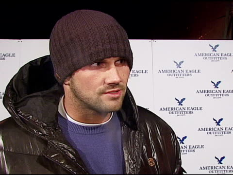 Matt Leinart on hosting an ESPN party on attending the festival for the first time on attending the party at the 2007 Sundance Film Festival American...