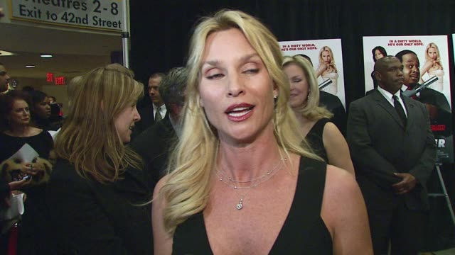Nicollette Sheridan/ Actress Ms Sheridan wears Celine She discusses the fact that this isn't her first epsionage oriented comedy She discusses...