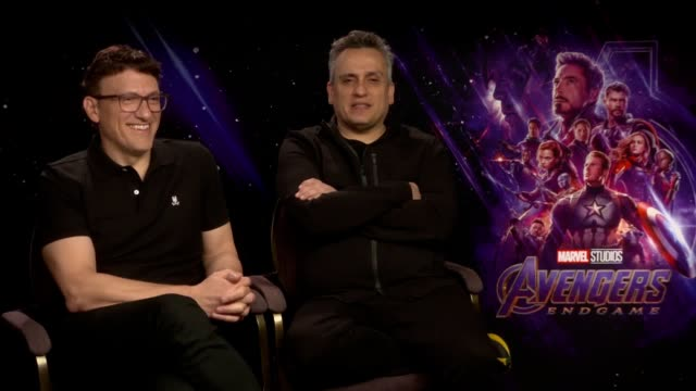 Endgame directors Anthony and Joe Russo on the final film in the Avengers franchise