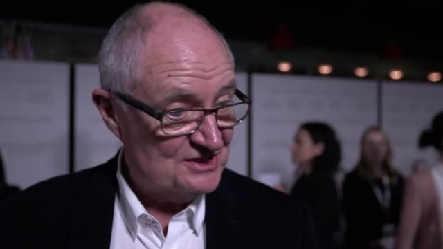interviews with jim broadbent and charlotte rampling at the sense of an ending premiere in london. - charlotte rampling stock videos & royalty-free footage