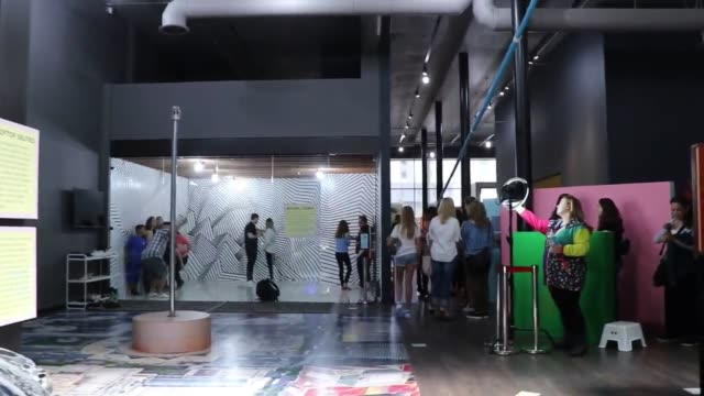 Interviews with museum owner and patrons as well as the displays and a tour explaining each exhibit Interior and exterior broll