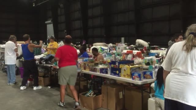 Interviews with residents at Celtic Studios temporary shelter in Baton Rouge Tyler Forbus from East Baton Rouge wouldn't have gone anywhere without...