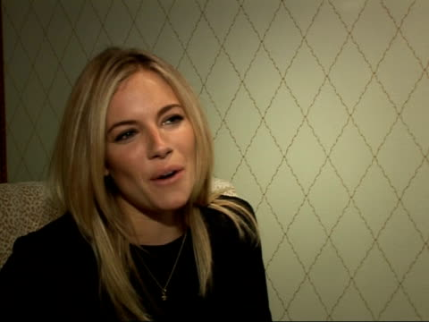 interviews with stars and director of 'the edge of love' england london int sienna miller interview sot on learning to speak with an irish accent /... - self love stock videos & royalty-free footage