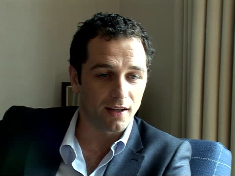 interviews with stars and director of 'the edge of love' matthew rhys interview sot on feeling intimidated playing dylan thomas and why they chose... - poet stock videos & royalty-free footage