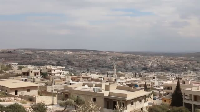 Interviews with Syrian Abu Tayyip Fatima Ali Ali Hulu and Musab Rashid in Darra Izza area in rural Aleppo Syria on October 15 2017 In line with...