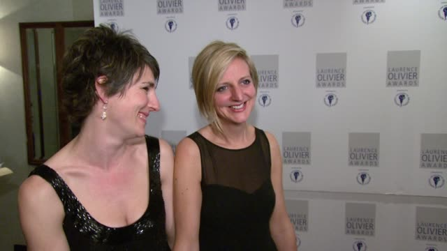 Tamsin Grieg on how she complements director Marianne Elliott too causing her to run away screaming at the The Laurence Olivier Awards at the...