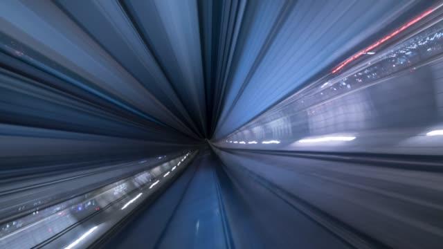 トンネルに - 路面電車点の映像素材/bロール