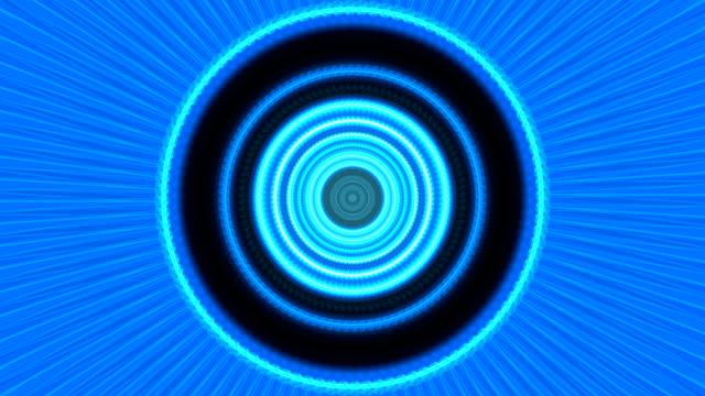 komplizierte blaue feuer kaleidoskop hintergrund - psychedelische musik stock-videos und b-roll-filmmaterial