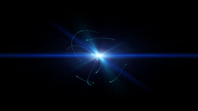 intro energy sphere on black background - simplicity stock videos & royalty-free footage