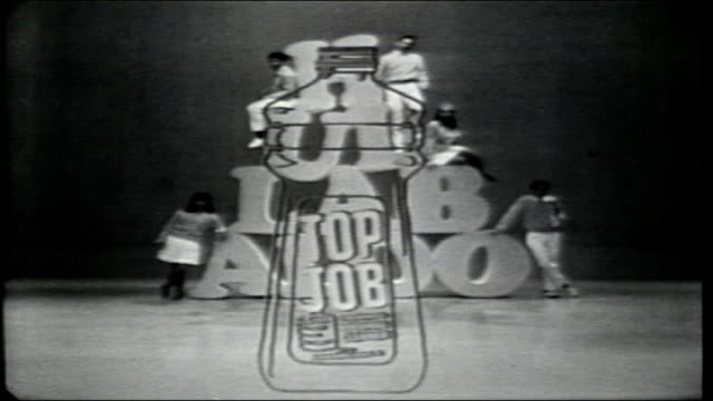 intro of program sponsors top job macleans toothpaste brylcreem - toothpaste stock videos & royalty-free footage