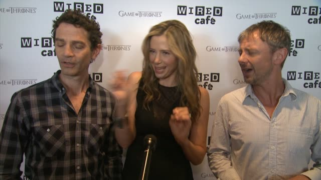 INTERVIEW Intruders Cast Mira Sorvino James Frain and John Simm on Mira being a Star Trek superfan and what to expect on the show WIRED Cafe @...