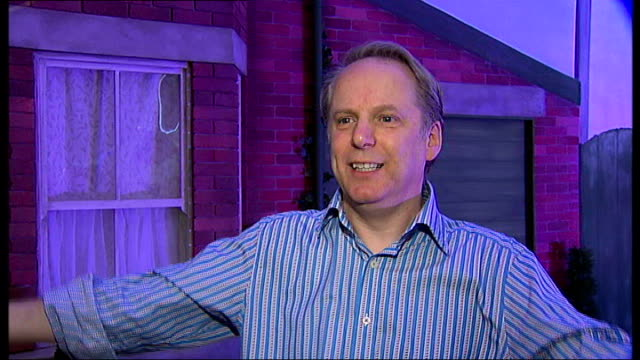 inventions exhibition at london's science museum nick park interview sot on making a sea lion at primary school lifesize model of wallace and gromit... - sea life park stock videos & royalty-free footage