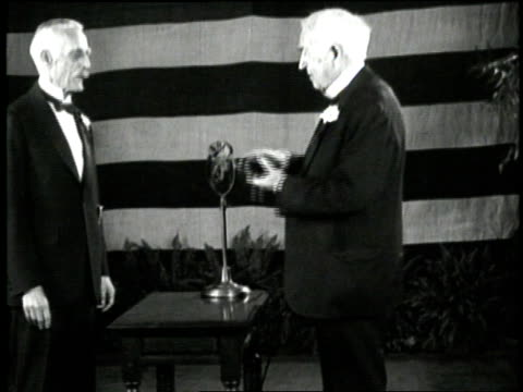 Inventor Thomas Edison receives the Congressional Medal of Honor