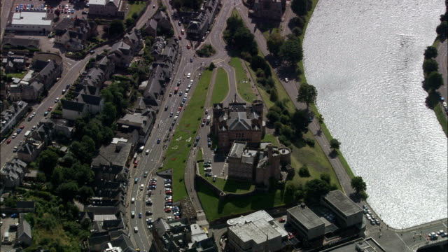 Inverness  - Aerial View - Scotland, Highland, United Kingdom