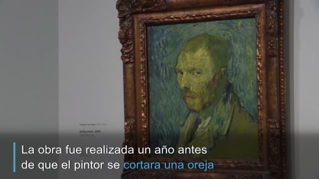 investigadores holandeses confirmaron el lunes la autoria de vincent van gogh de un melancolico autorretrato pintado durante un episodio de psicosis... - psychosis stock videos & royalty-free footage
