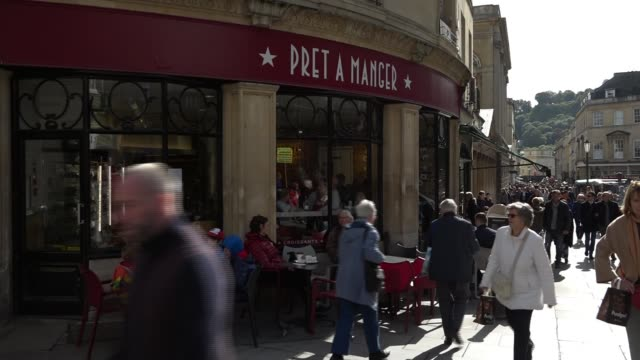 Investigation under way after second Pret a Manger customer said to have died of allergic reaction ENGLAND Somerset Bath General view Pret a Manger
