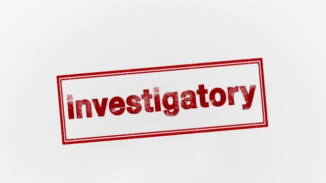 vídeos de stock e filmes b-roll de investigatory - detetive