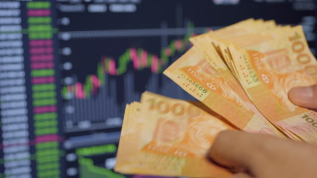 investors are counting hong kong money. - investment stock videos & royalty-free footage