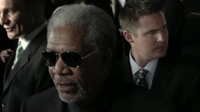 invictus premierebeverly hills ca united states 12/03/09 - morgan freeman stock videos & royalty-free footage