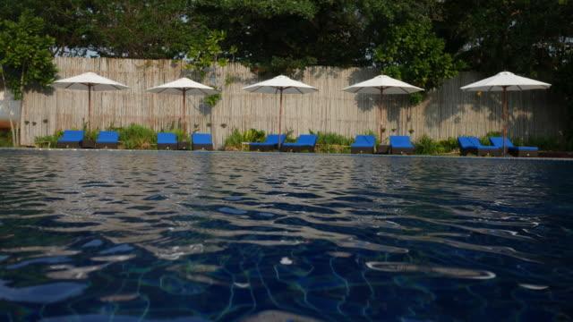 inviting resort swimming pool