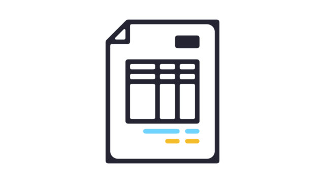 invoice receipt line icon animation with alpha - receipt stock videos & royalty-free footage