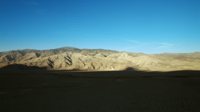 inyo mountains from owens valley - basin and range province stock videos and b-roll footage