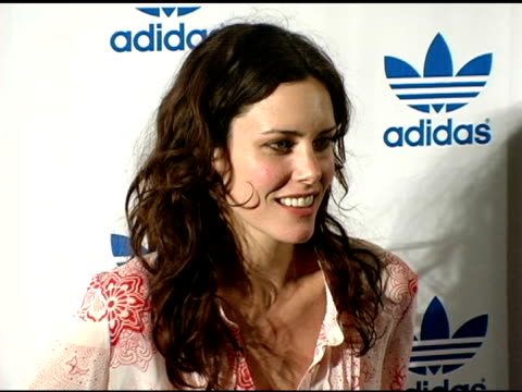 Ione Skye at the VIP Grand Opening Celebration of the new Adidas Originals Melrose Store at the Adidas Originals Melrose in Los Angeles California on...