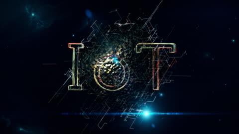 vídeos y material grabado en eventos de stock de cubo de iot - intelligence