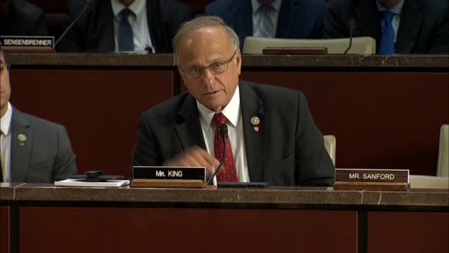 Iowa Congressman Steve King of the House Judiciary Committee asks Justice Department Inspector General Horowitz when in 2016 the switch was made from...