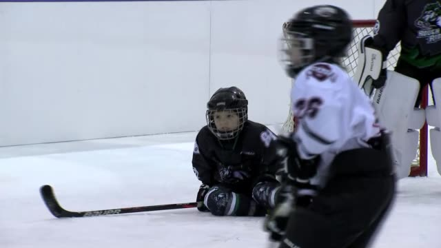 iowa democrats choosing candidate to take on donald trump usa iowa gvs of youth teams' ice hockey game vox pops wide shots of city joe biden arriving... - scoring a goal stock videos & royalty-free footage