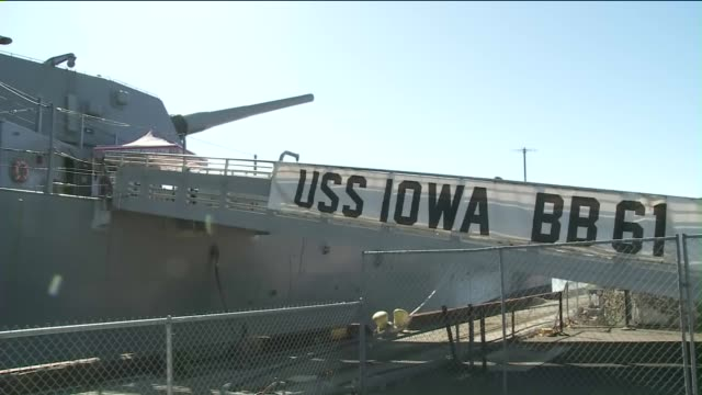 iowa is the lead ship of her class of battleship and the fourth in the united states navy to be named in honor of the 29th state. - battleship stock videos & royalty-free footage