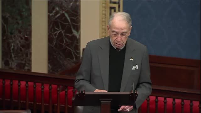 iowa senator chuck grassley says in floor remarks section 230 internet law that he was not calling big tech was a bad actor but the call them to be a... - big tech stock videos & royalty-free footage