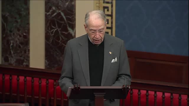 iowa senator chuck grassley says in floor remarks section 230 internet law that big tech and stakeholders from content makers to social media... - big tech stock videos & royalty-free footage