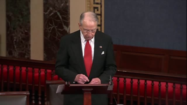 iowa senator chuck grassley says that a recent trip to china was an eyeopener hearing a lot that china embraces capitalism but not to believe it... - socialism stock videos & royalty-free footage